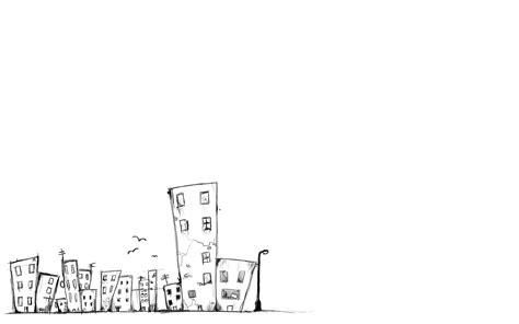 cartoon wallpaper black and white cartoon city wallpaper by mrfletch1000 on deviantart
