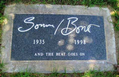 sonny bono death grave of sonny bono photograph by randall weidner