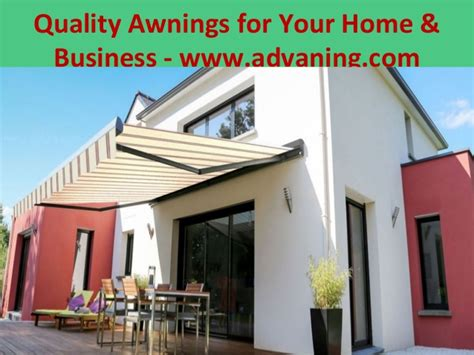 Quality Awning quality awnings for your home business www advaning