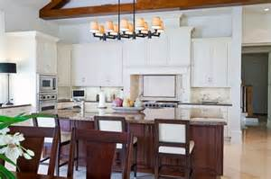 Island Chairs For Kitchen the chairs in this kitchen help to carry the contrasting color of the
