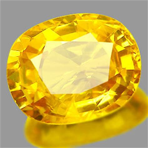 yellow sapphire gemstones in jaipur rajasthan india p