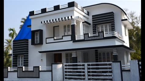 video house athani 5 cents plot and 1700 sq ft contemporary house
