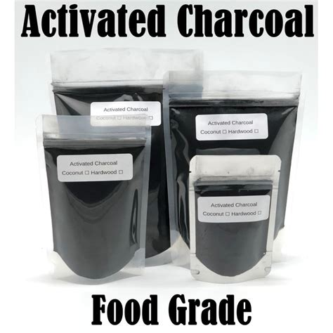 activated charcoal coconut shell powder organic