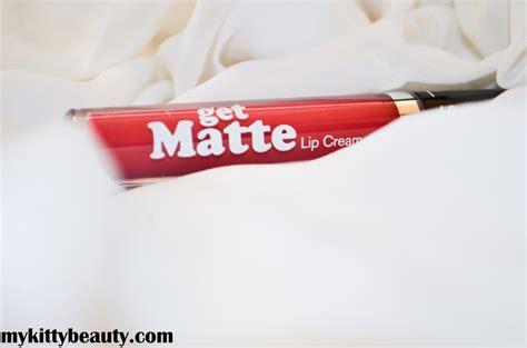 silkygirl get matte lip mykittybeauty