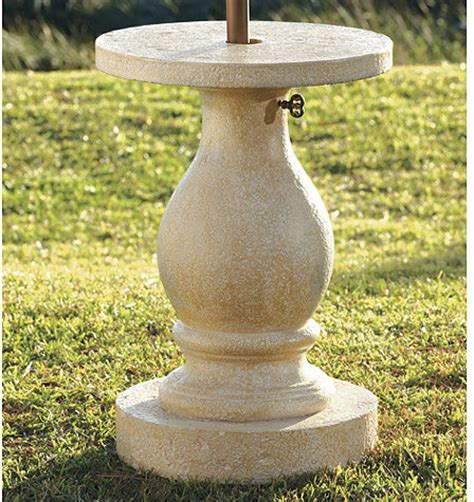 Umbrella Stand For Patio Table Baluster Patio Umbrella Stand Traditional Coatracks And Umbrella Stands By Ballard Designs