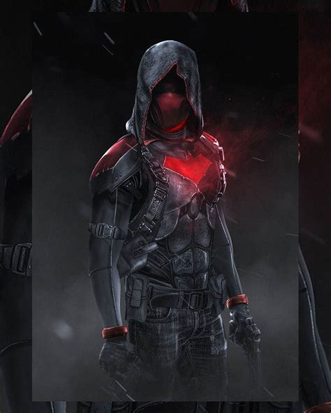 red hood by bosslogic batman