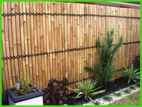 bamboo garden fence ideas shrub flower bed ideas