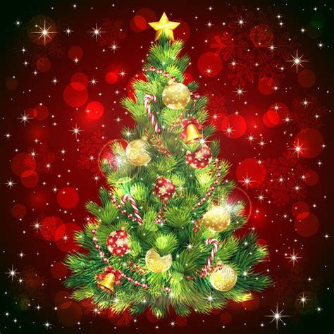 christmas tree vector image free vector graphics all