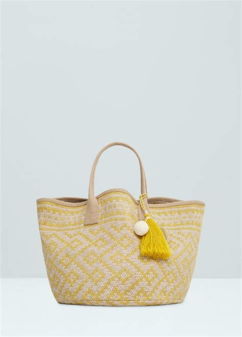 Tas Tote Bag Mango 10 best images about the bag on bags fashion and canvas totes