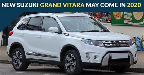 2020 Suzuki Grand Vitara by All New Suzuki Grand Vitara To Come In 2020 As Per Sources