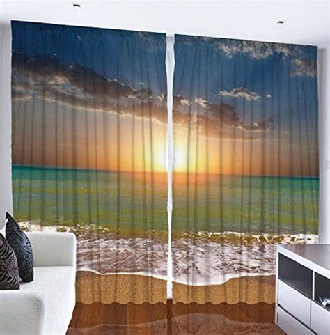 beach theme bedroom with window coverings hardwood bedroom drapes printed curtains and tropical design on