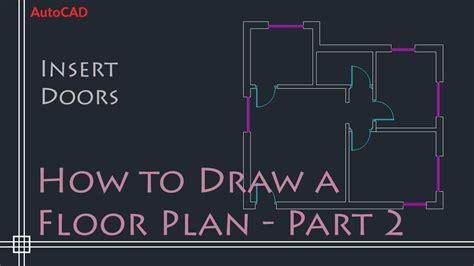 how to sketch a floor plan youtube cad doors cad door archblocks autocad window treatment