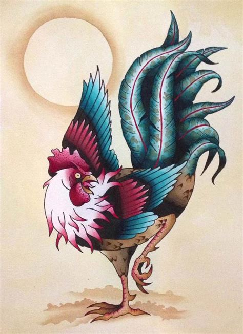 rooster tattoo designs men 9 rooster designs ideas and meaning 2018 styles