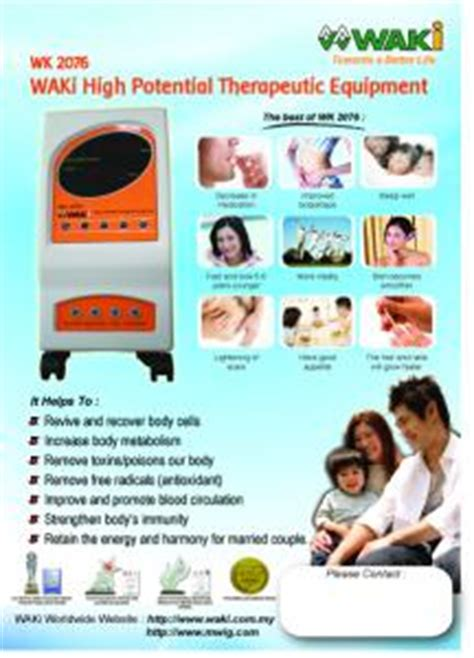 High Potensial Therapy 9000v invitation 30 days free high potential therapy