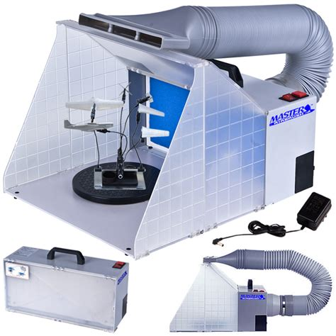 spray booth exhaust fan portable hobby airbrush paint spray booth kit exhaust