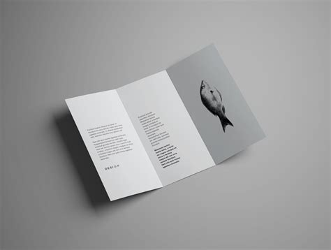 hp tri fold brochure template gallery template design free download