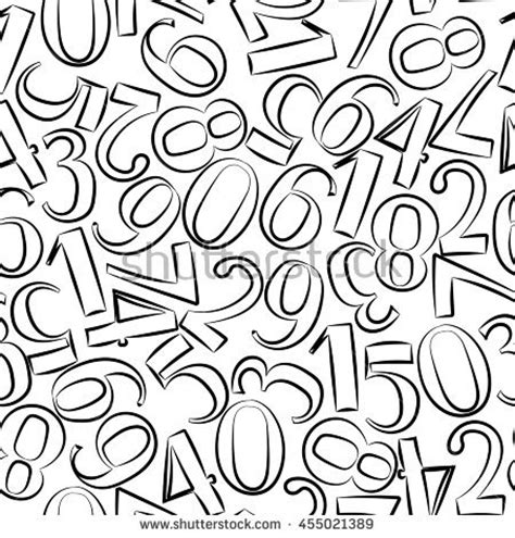numbers pattern vector stock images royalty free images vectors shutterstock