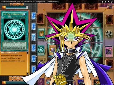 mod game yugioh yugioh the legend reborn the seal of orichalcos power