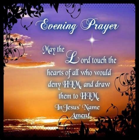 Evening Blessings Images