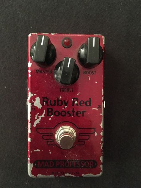Booster X By Mad Prof mad professor ruby booster image 1636535 audiofanzine