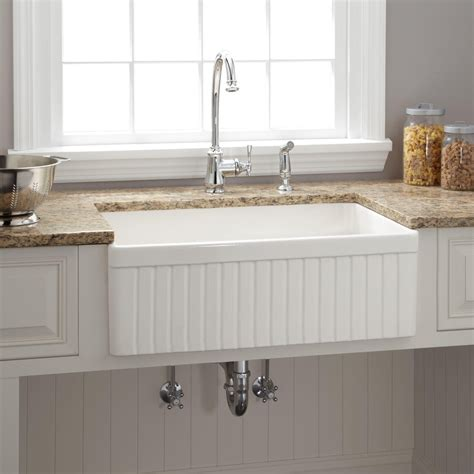 best farmhouse sink for the best kitchen faucets for farmhouse sinks