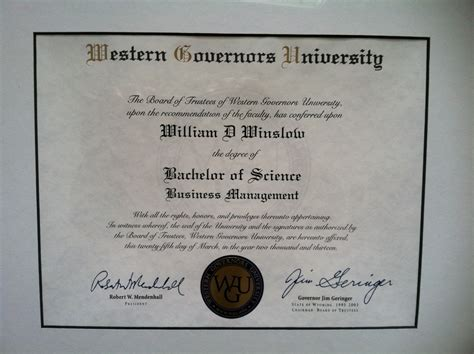 Information Of Mba Degree by A Review Of My Experience Earning My B S In Business