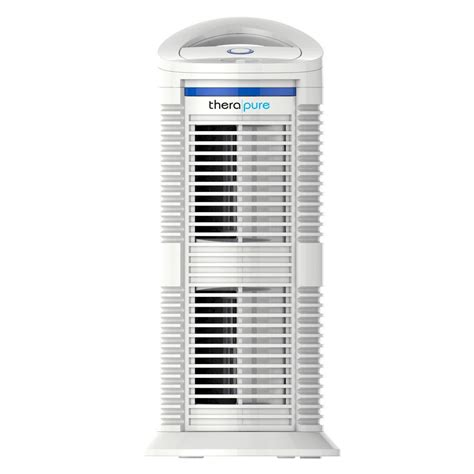 tower air purifier with hepa type filter hap424u the home depot