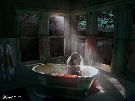 scary bathroom scary bathroom worth1000 contests