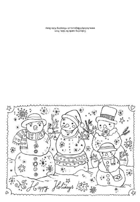 printable christmas cards for adults 304 best coloring pages for adults and children images on