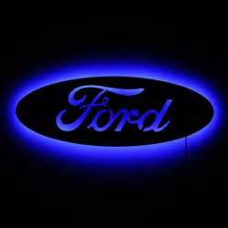 Ford Light Up Emblem Lighted Ford Emblem Sign Led Backlit Ford Logo As Wall