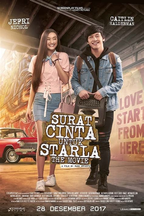 film indonesia 2017 daftar surat cinta untuk starla the movie 2017 movies film