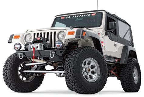 Jeep Wrangler Stubby Bumper Stubby Bumper For Jeep Tj 1