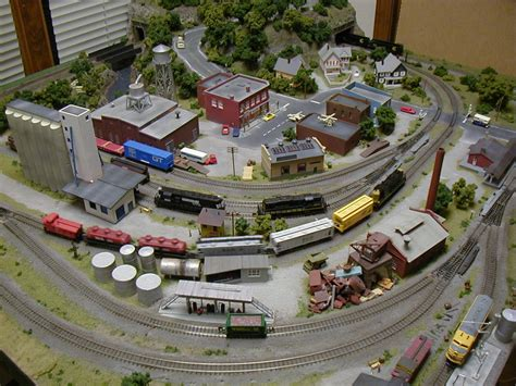 layout n scale train greg s incredible 4 x 4 n scale model train layout photo