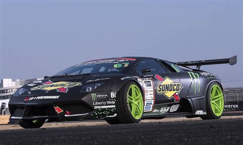 drift cars lamborghini murcielago drift car begins testing uses rwd