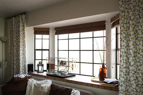 Windows On The Bay Decor Different Classes Of Shades For Bay Windows Theydesign Net Theydesign Net