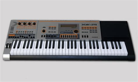 Keyboard Casio Xw P1 casio xw p1 test bonedo