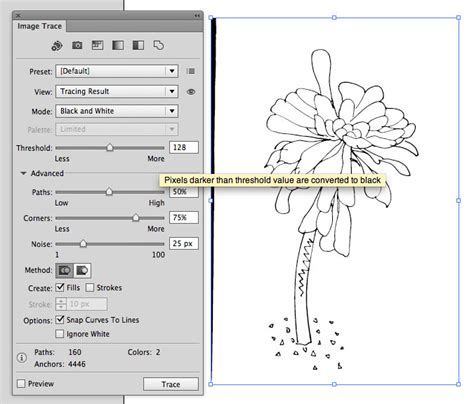 illustrator tutorial image trace go radiate how to use the live trace tool in illustrator