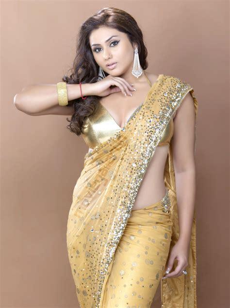 hot photos with saree namitha hot saree photo shoot pics namitha photo shoot