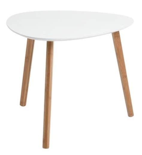 Jysk Side Table End Table Taps L Bamboo White Jysk