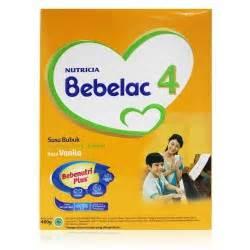 Nutricia Bebelac 3 Pertumbuhan Vanila 800gr T2909 babyzania belanja perlengkapan bayi di