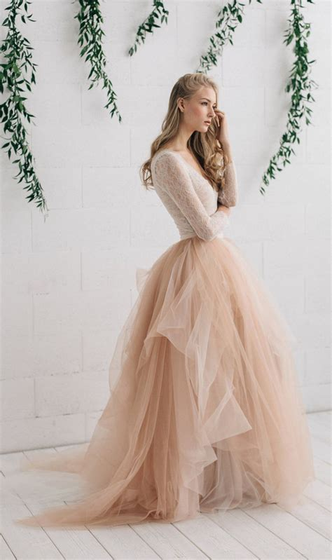 Tulle Wedding Dresses by Best Tulle Wedding Skirt Ideas On Ethereal