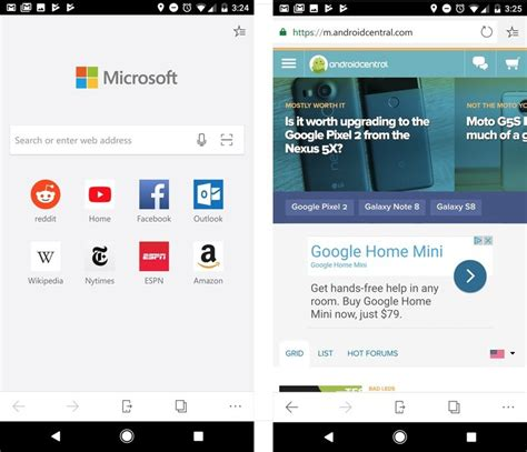 android browser update best android browsers free