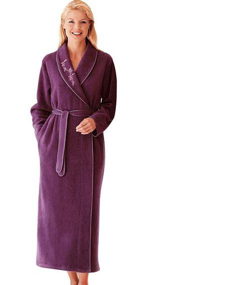 Robe De Chambre Velours Femme Grande Taille - peignoir et robe de chambre grande taille notre top 10