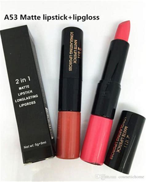 Lipstick Lip Gloss 6 2 In1 Matte brand m a c matte lipstick lip gloss 2in1 maximum pro vitamin lipstick with logo m c vs