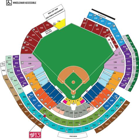 nationals park seating view detailed seat numbers chart the o2 arena seating