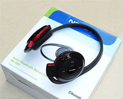Headphone Bluetooth Nokia Bh 503 Nokia Bh 503 Bluetooth Headphone With Box Clickbd