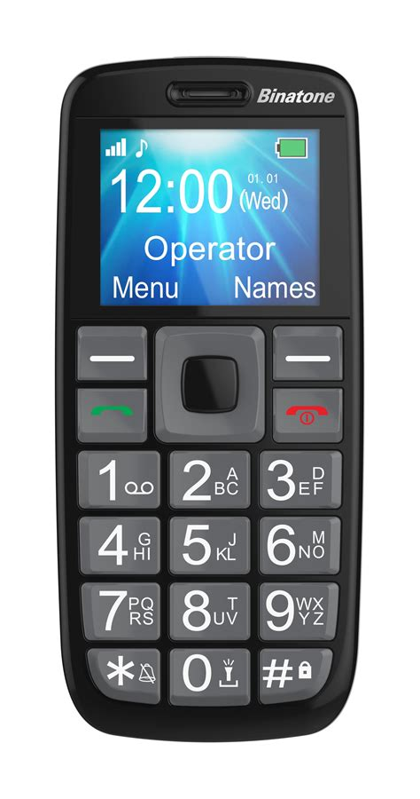 big mobile binatone m312 big button gsm mobile phone black