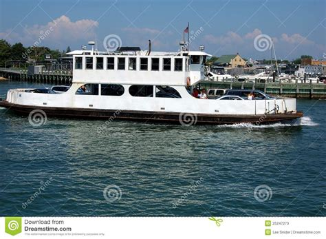 ferry boat docking greenport ny ferry boat docking editorial image image
