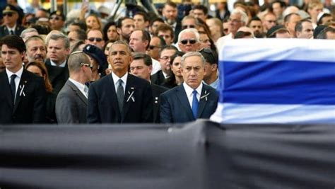 world leaders gather in jerusalem at peres funeral nta