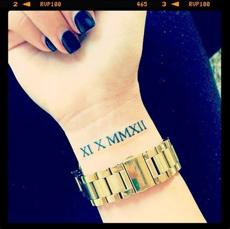 17 images about roman numeral tattoos on pinterest